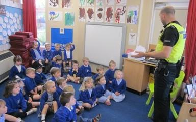 Police Visit Nursery!