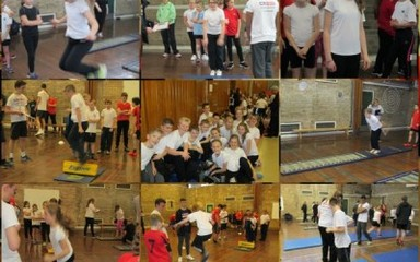 Athletics at Whickham School