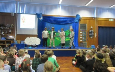Year 5 Christmas Performance Song