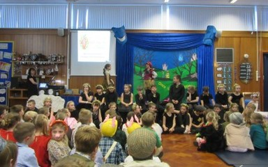 Year 4 Christmas Performance Song