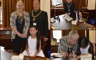 Tea with the Lord Mayor and Lady Mayoress