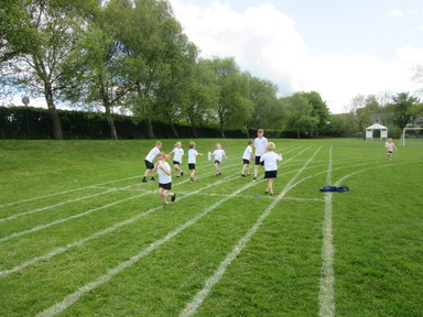 Key Stage 1 Water Relays
