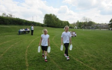 Reception & Year 5 Water Walk Challenge