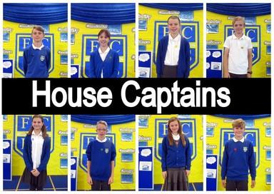 House Captains at Fellside for 2016/2017