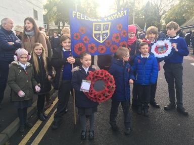 Whickham Remembrance Service 13th November 2016