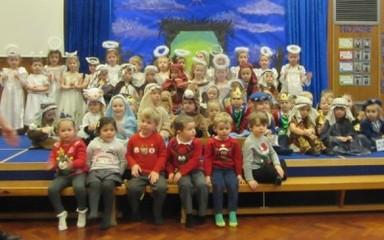 Christmas Nativity Reception & Nursey AM