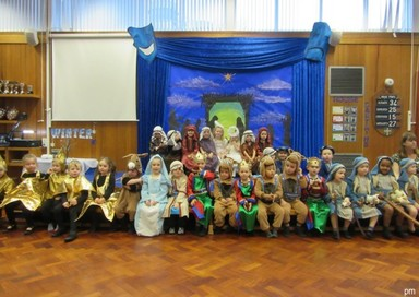 Christmas Nativity  Reception & Nursery PM