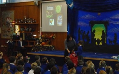Advent Assembly with Brigitta Steel