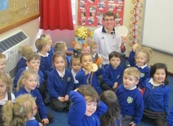 Matt Wylie visits Nursery