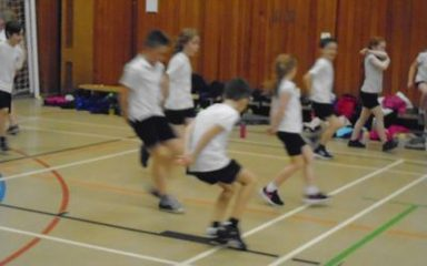 Cluster Fitness Festival at Whickham School