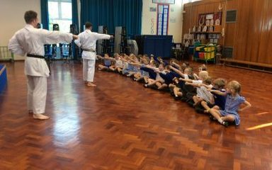 Karate Taster Classes in Year 2