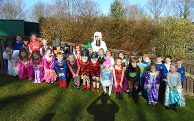 World Book Day is celebrated by Year One