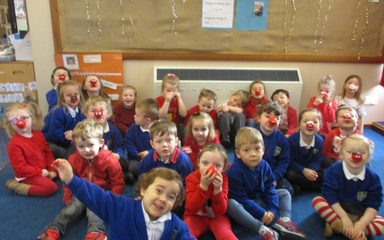 Nursery celebrates Red Nose Day