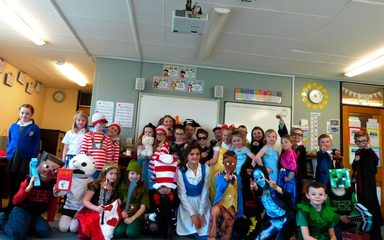 World Book Day Excitement in Year 3