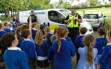 Year 3 Meet the Police