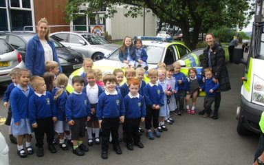 The Police visit Nursery (again!)