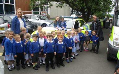 The Police visit Nursery (again!)