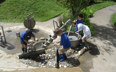Afternoon children visit Washington Wetlands Centre