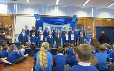 Our Choir's Musical Assembly Performance