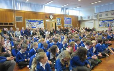 Year 3's Performance at our Musical Assembly