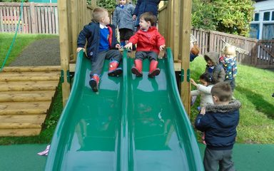 Our New Playground Equipment in Early Years