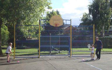 PE: Tennis Coaching in Year 5