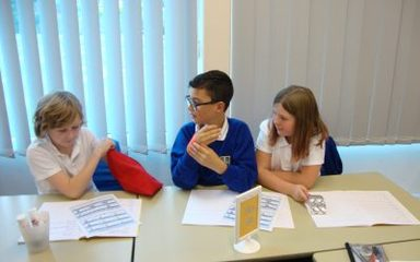 Science: describing and testing the properties of materials