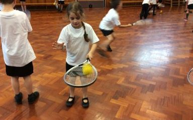 Tennis Taster Sessions in Year 2
