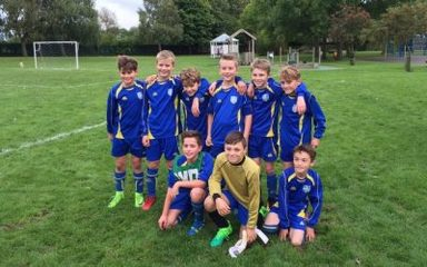 Fellside's Footie Team Does Us Proud!