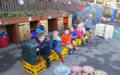 Our First Week in Nursery