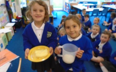 Food Technology: Baking Bread and Churning Butter