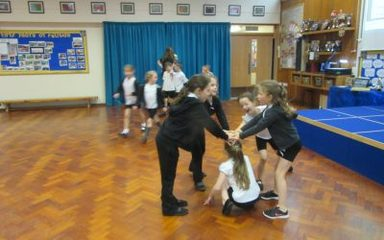 What's That Coming Over The Hill? Year 3 Dance