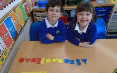Maths Problem Solving with Logic Blocks