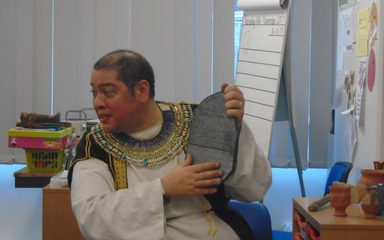The Ancient Egyptians Come to Year 4