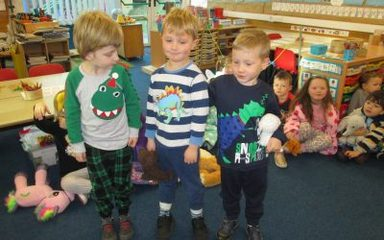Children in Need Day in Reception