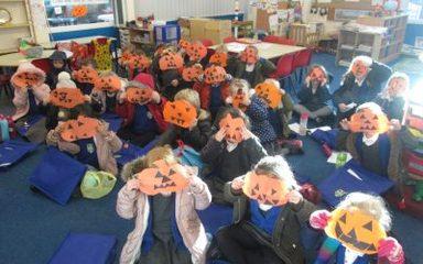 Halloween Week in Reception