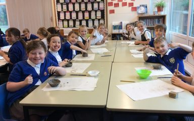 Stone Age Pottery in Year 3