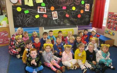 Celebrating diversity in Nursery and Children In Need