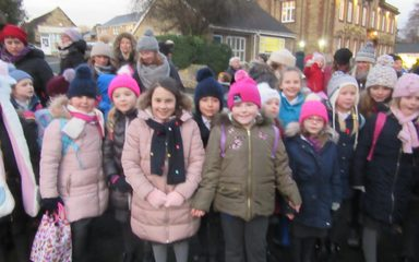 The Choir Lights Up Whickham!