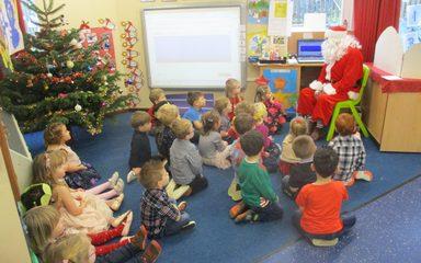 Christmas in Nursery
