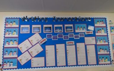 Year One Writing Display