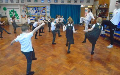 BLOCK, PUNCH, KICK – Year One have a Karate Taster Session