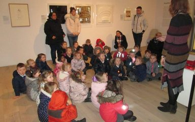 Reception Class Trip to the Hatton Gallery