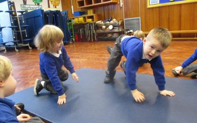 Nursery become story tellers and actors!