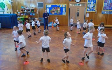 How's that! Year One's Cricket Workshop