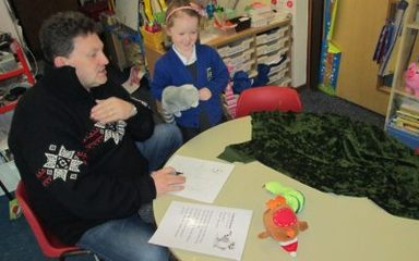 Reception Class Share their Learning with Parents