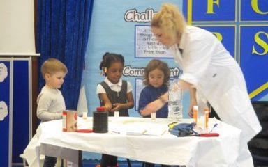 Science week in Nursery