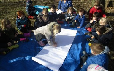 World Book Day activities in Nursery
