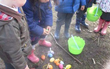 Easter fun in Nursery