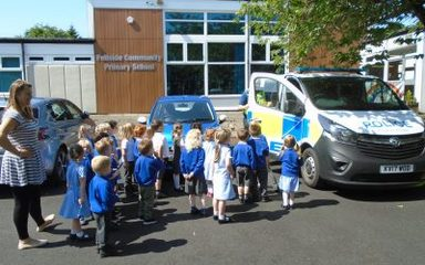 The Police visit Nursery